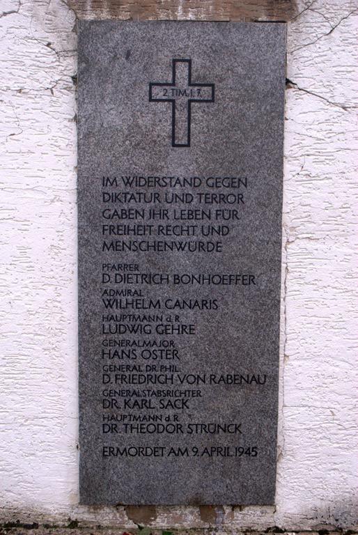 Bonhoeffer Memorial in Flossenbürg