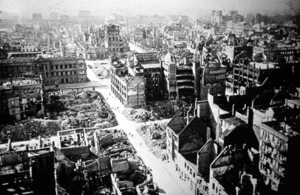 Ruins of Mannheim 1945