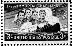 Four Chaplains Commemorative Stamp
