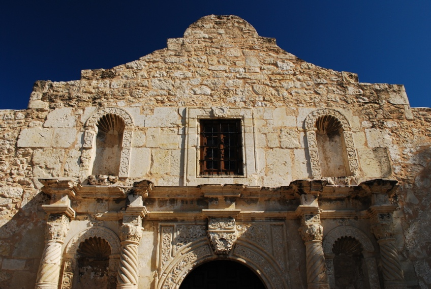 Mission San Antonio de Valero (The Alamo) Detail