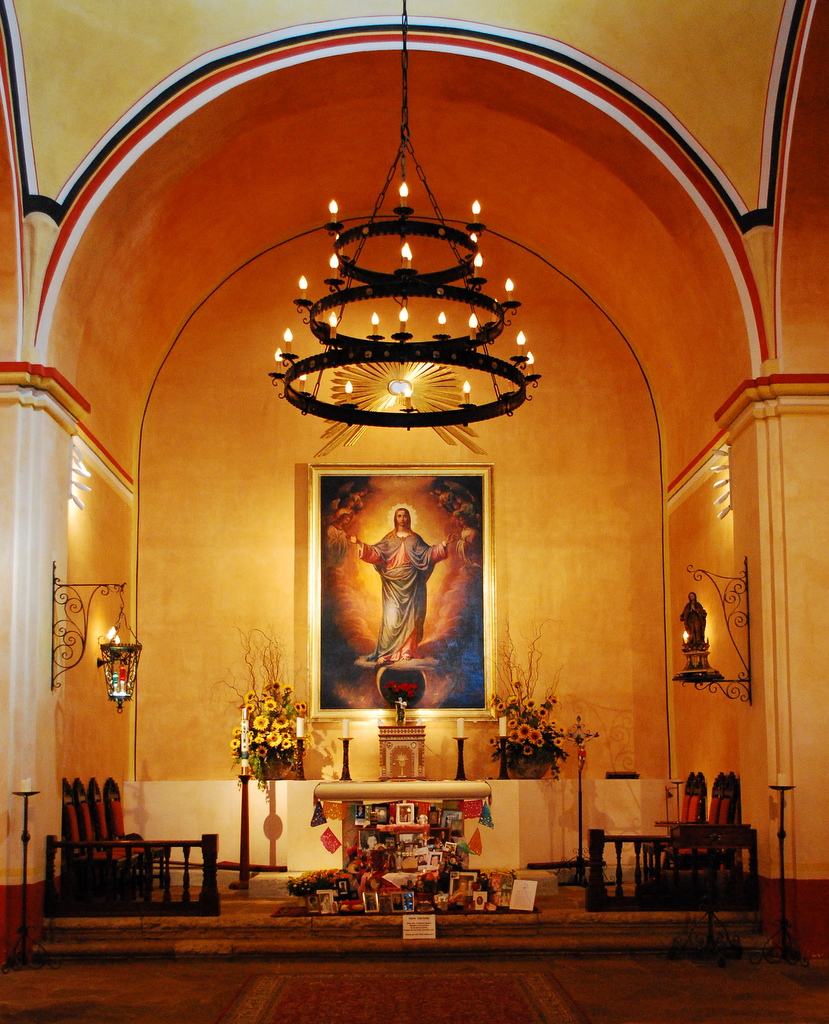 Mission Concepcion Interior
