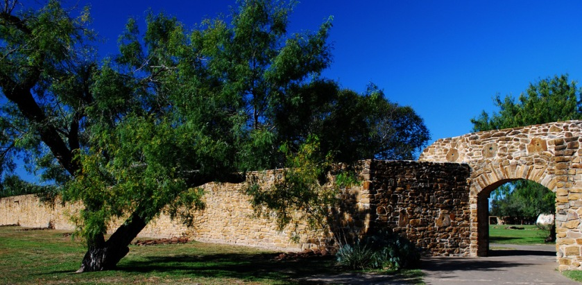 Mission San Jose Gate and Exterior Wall