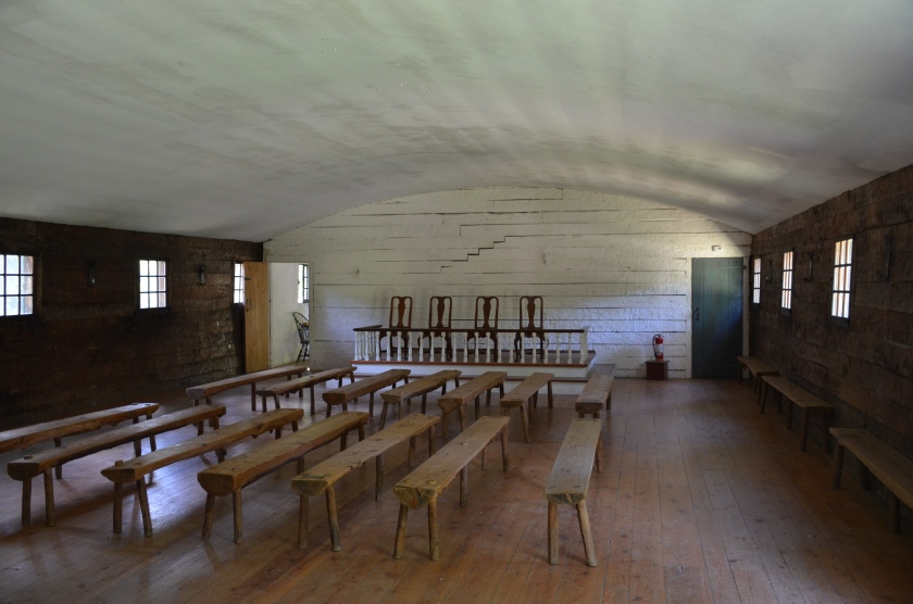 Interior of reconstructed New Building or